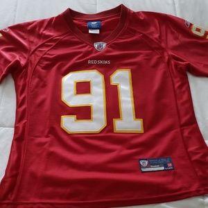 Redskins NFL Jersey 91 Kerrigan